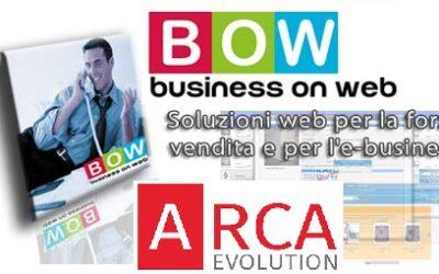 BOW – Business on web, l'e-commerce di Arca